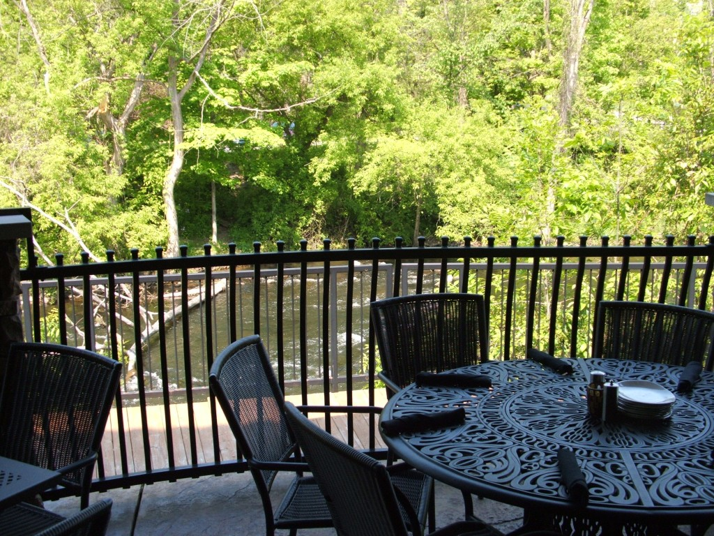 The Deck at Reds on the River during Summer