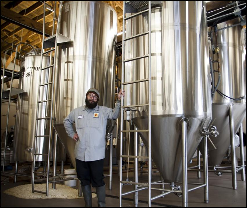 Jacob Derylo, Master Brewer at Brewery Vivant