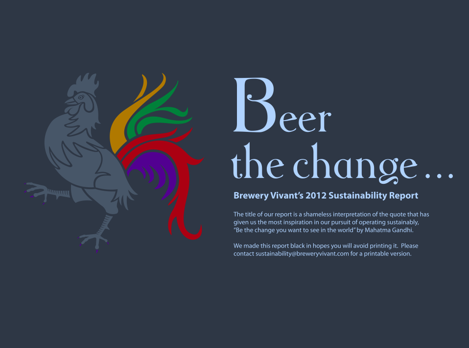 Brewery Vivant Sustainability Report image
