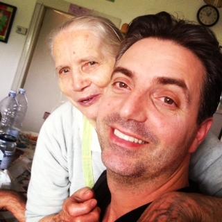 Maurizio Arcidiacono and his Mother, Amore Trattoria Italiana
