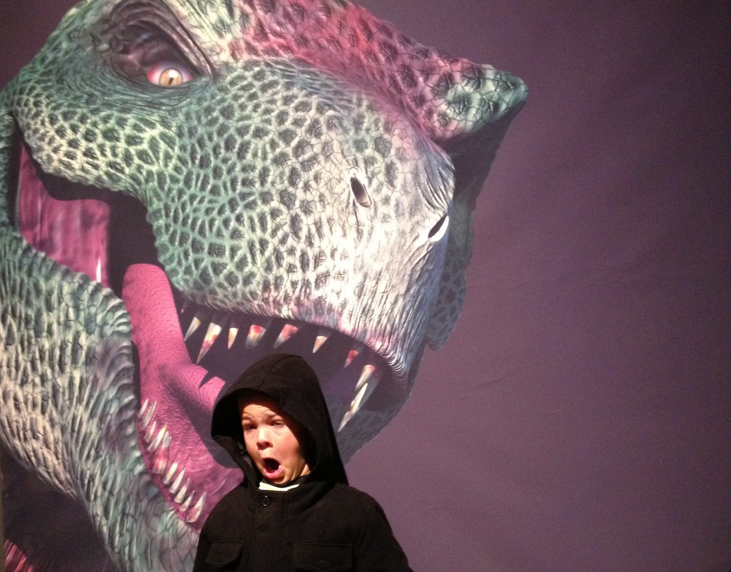 T-Rex at the Grand Rapids Public Museum