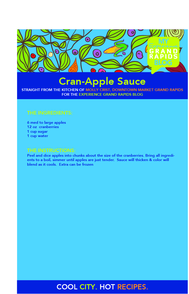 Cran-Apple Sauce Recipe