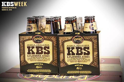 KBS Launch Week promotional photo of beer