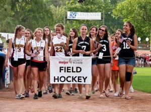 Field hockey team at the Meijer State Games of Michigan