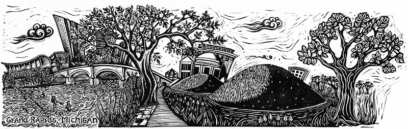 Grand Rapids Art Oudoor entry winner by Alynn Guerra