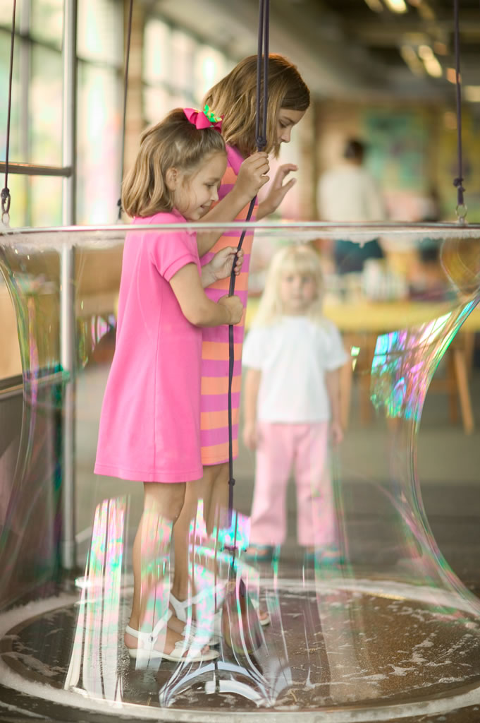 Children's museum -bubble