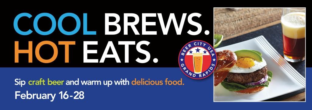 Cool Brews Hot Eats logo for 2015