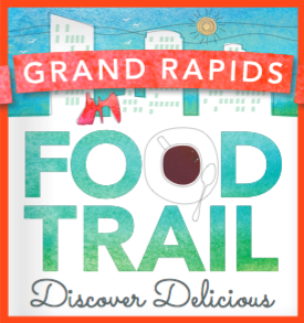 Grand Rapids Food Trail logo