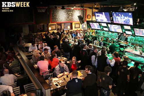 People in restaurant for KBS Week
