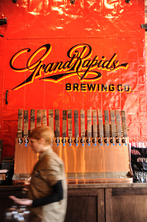 Grand Rapids Brewing Company inside photo