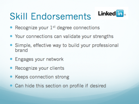 Skills Endorsement from LinkedIn