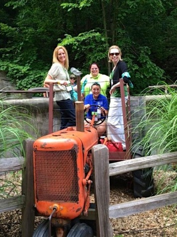 @ORGPROTeam14 finds the tractor at John Ball Zoo