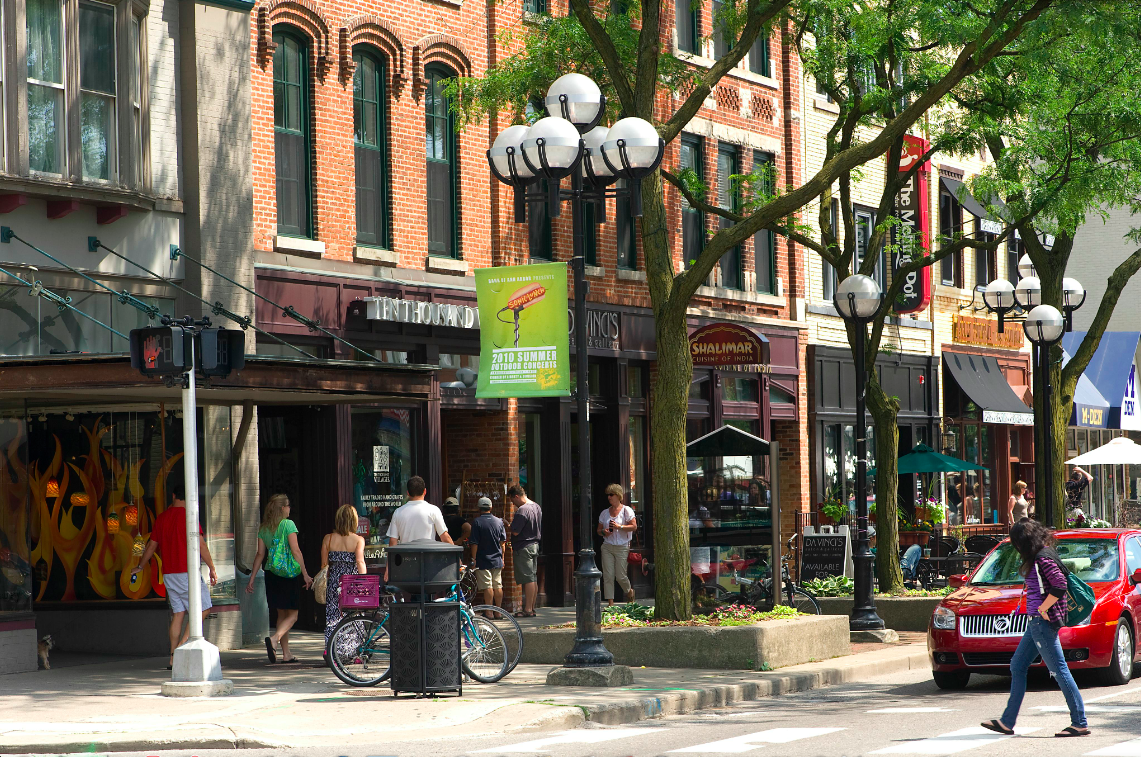 Ann Arbor Main Street Shopping