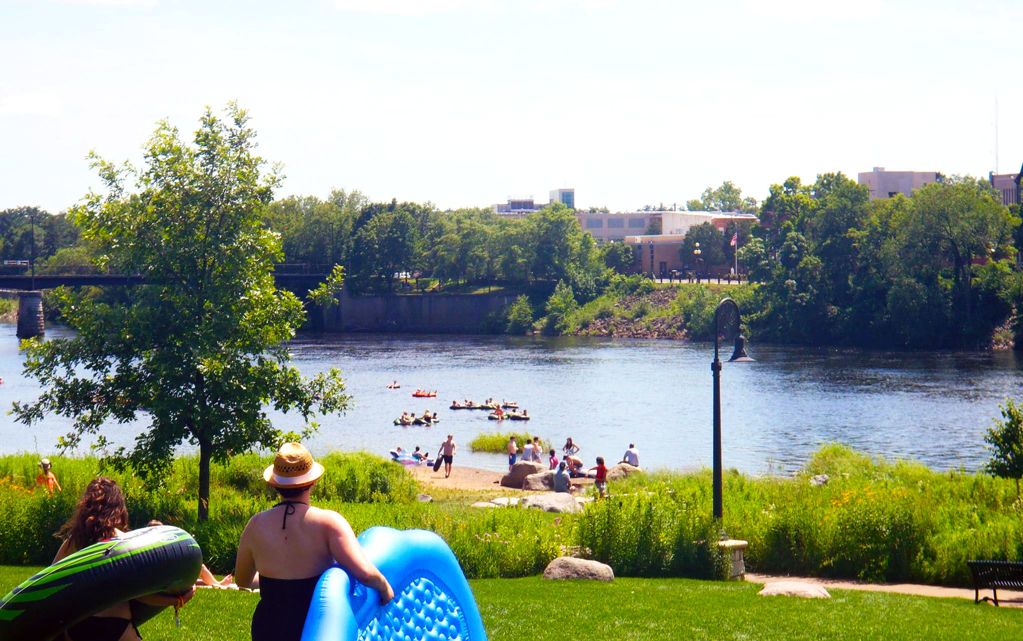 Floating In Eau Claire - Photo by: Megan Strop