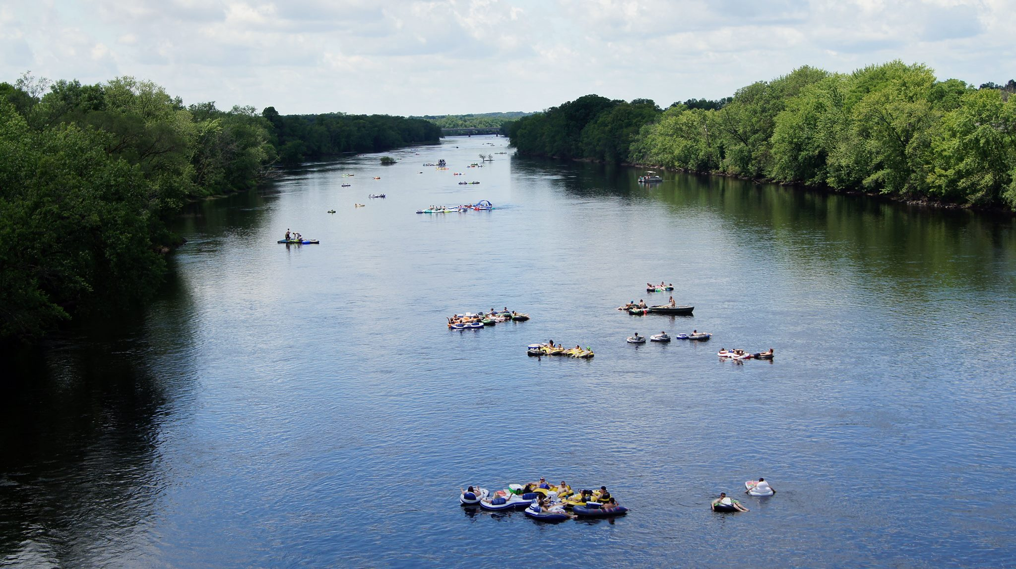Floating Down Chippewa River