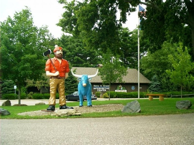 Paul Bunyan Logging Camp - Photo provided by: Visit Eau Claire
