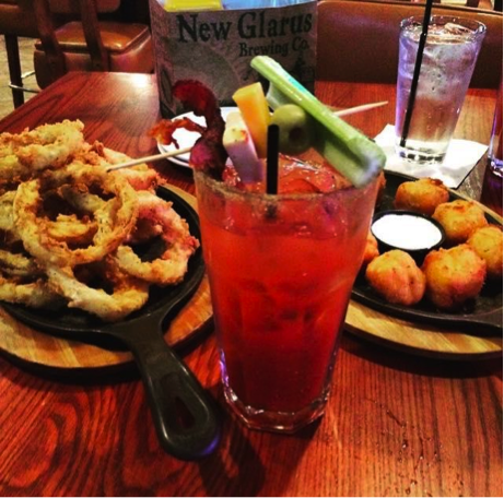 Milwaukee Burger Appetizers and Bloody Mary - Photo by: Mariah Wild