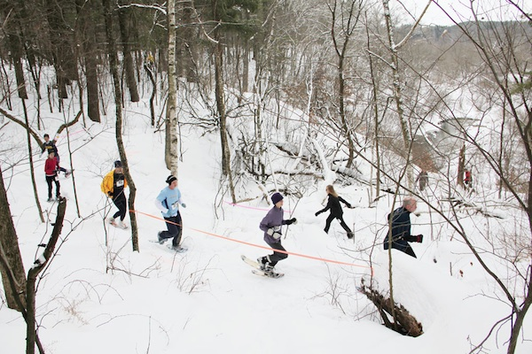 Powderkeg Snowshoeing - Photo by: Nick Meyer