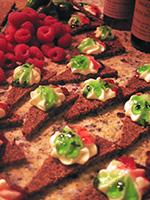 Blue Ridge Pumpernickel Toast