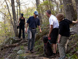 Obama Hikes White House photo