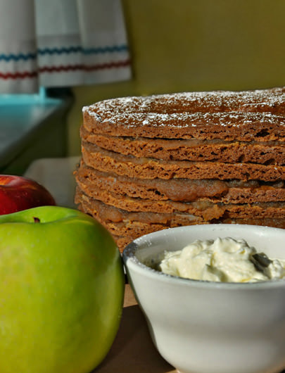 Apple Stack Cake Recipe from Early Girl Eatery in Asheville, NC