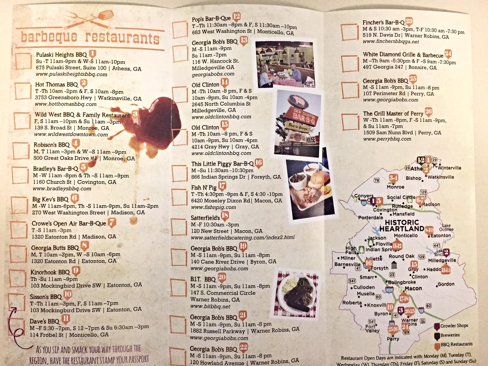 Brew's & Q's Brochure
