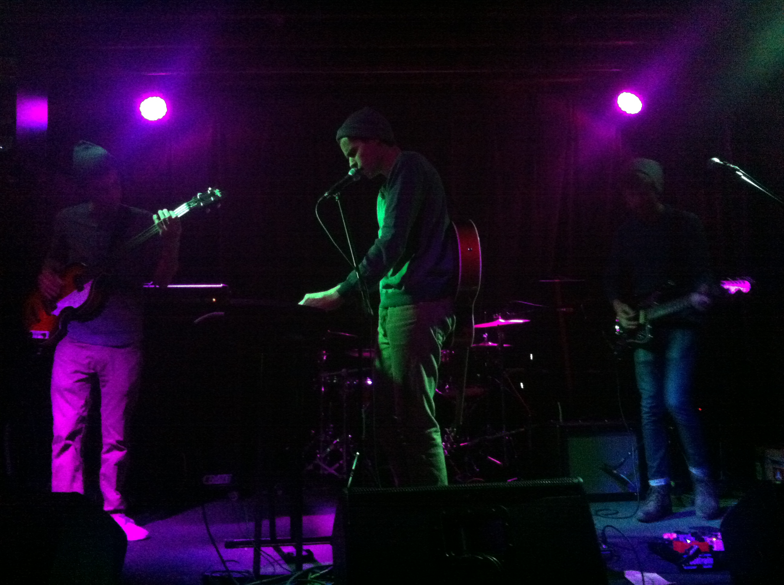 Son & Thief play at the Caledonia on 1/15