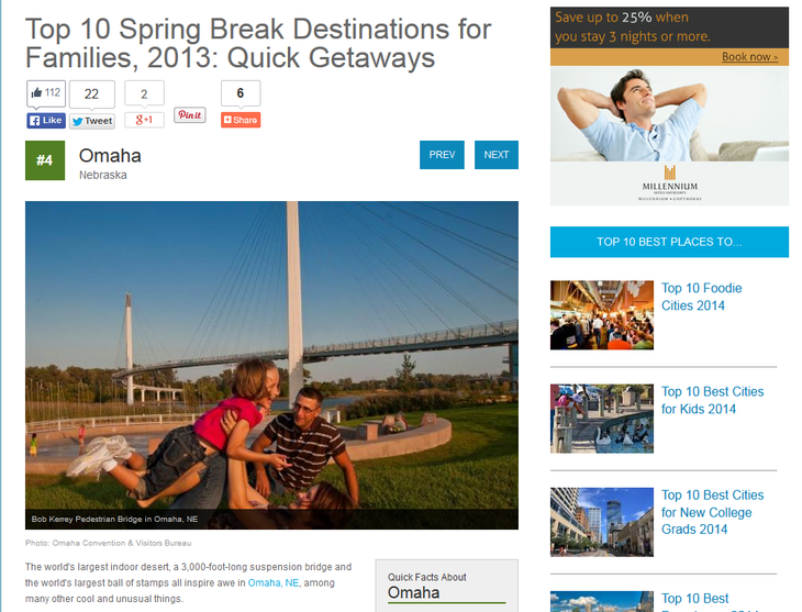 Top 10 Spring Break Destinations for Families
