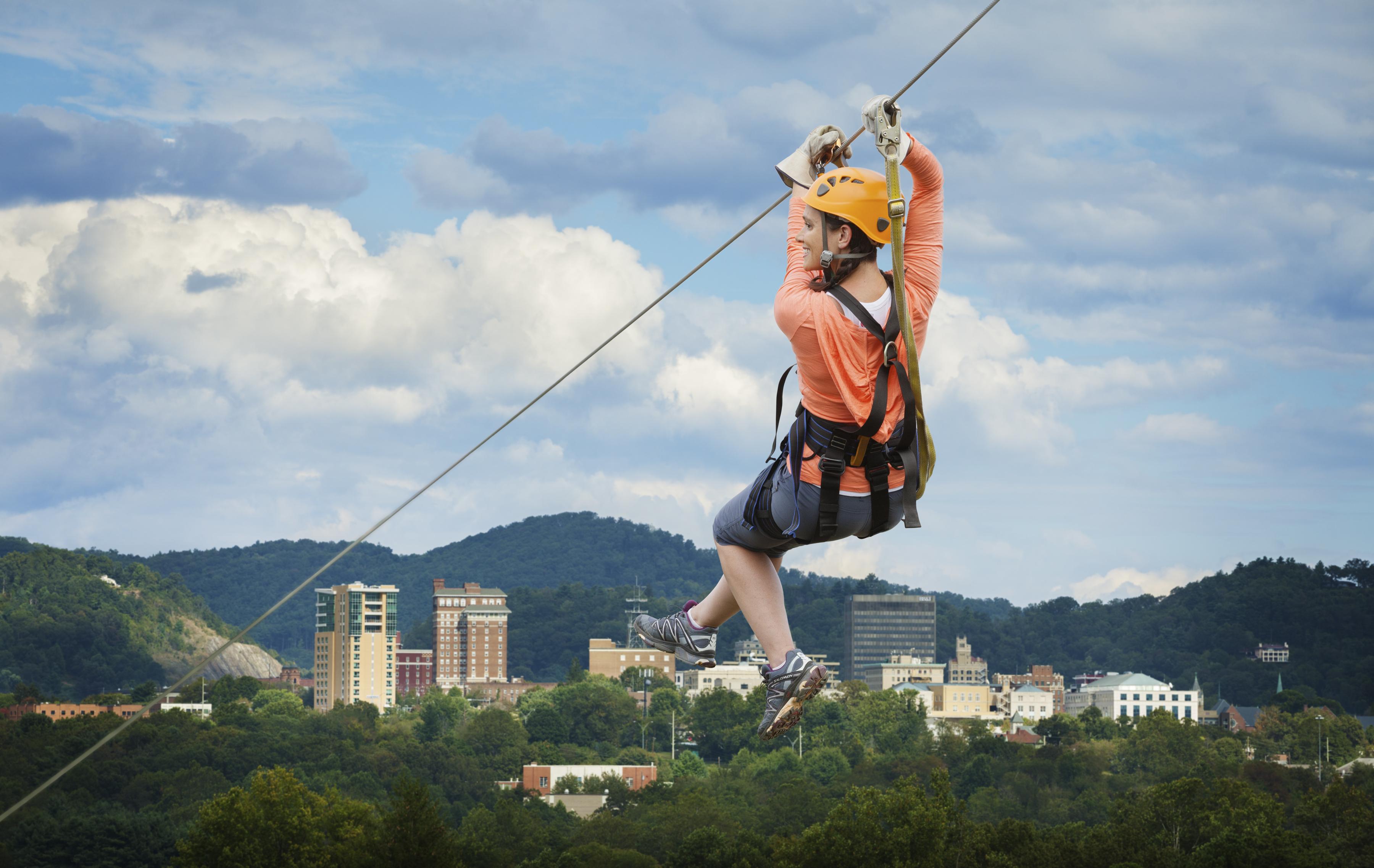 Ziplines | Asheville, NC\'s Official Travel Site