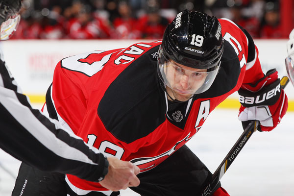New Jersey Devils Hockey Player