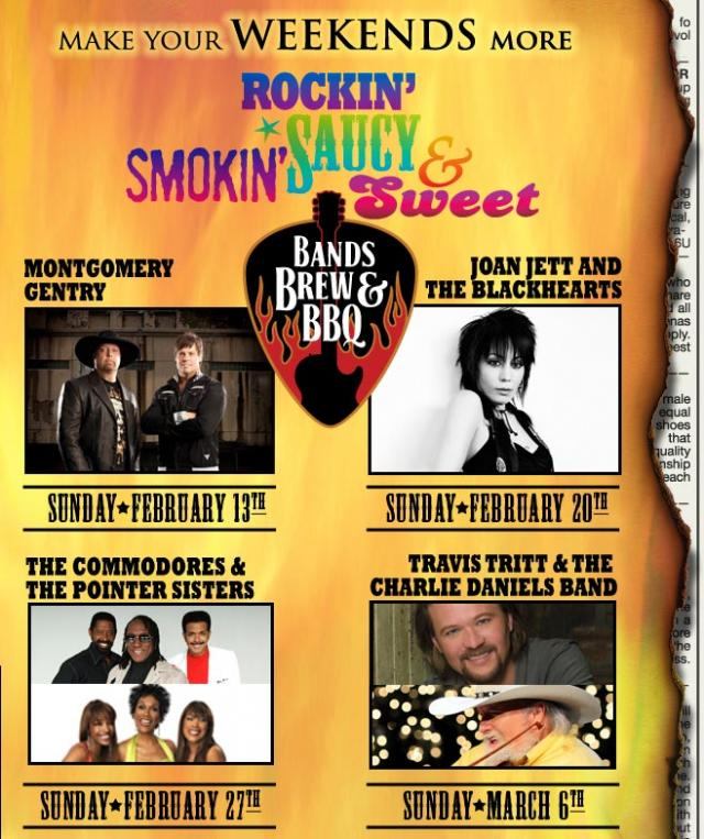 Bands Brew & BBQ with Montgomery Gentry
