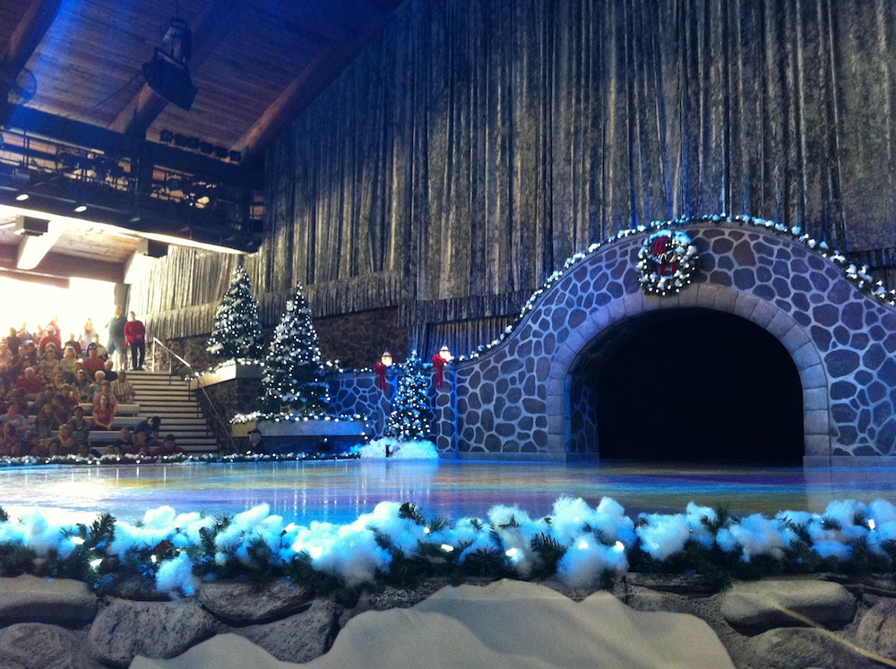 Christmas on Ice at Busch Gardens Tampa Bay