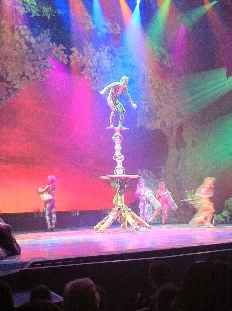 Cirque Dreams at Busch Gardens Tampa Bay
