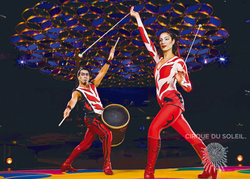 Image Courtesy of Cirque Du Soleil