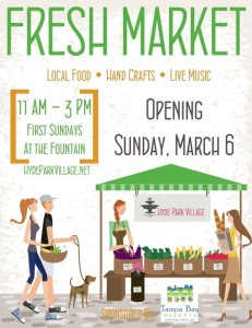 Fresh Market in Hyde Park THIS SUNDAY