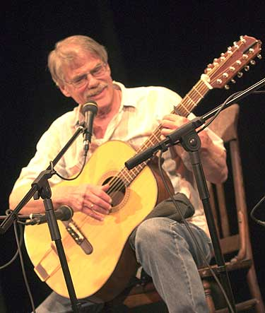 Gordon Bok, renowned folk musician and song writer
