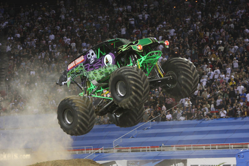 Grave Digger Tampa Bay at Raymond James Stadium for Monster Jam