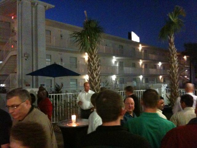 A Night on the Terrace at the Crowne Plaza Tampa Westshore!