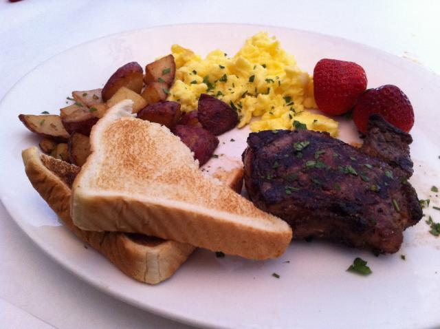 Tuscan Style Steak and Eggs