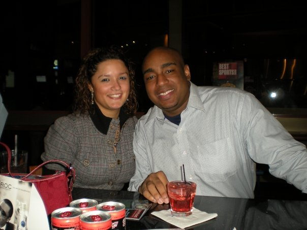 Tampa Bay Nightlife: Jenny and Jerm at Dwight Freeney's Billiards Tourney