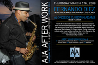 Tampa Bay Area Events: Jazz at AJA Channelside