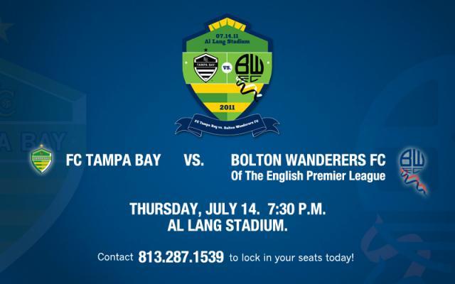Bolton Wanderers vs FC Tampa Bay