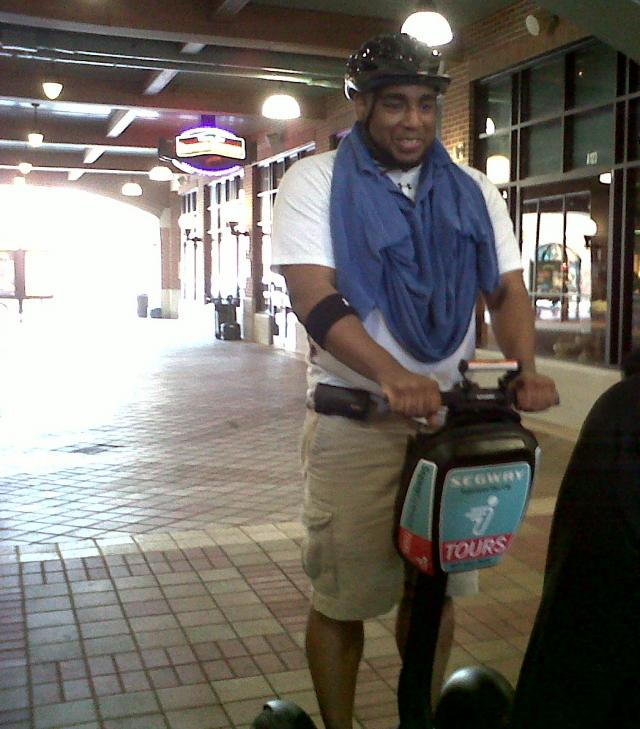 Jerm on a Segway Tour