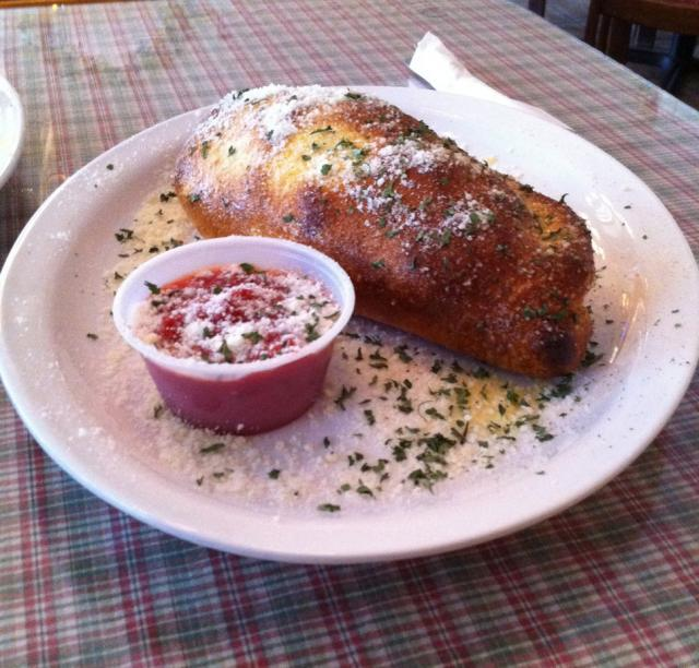 Calzone at Sally O'Neill's