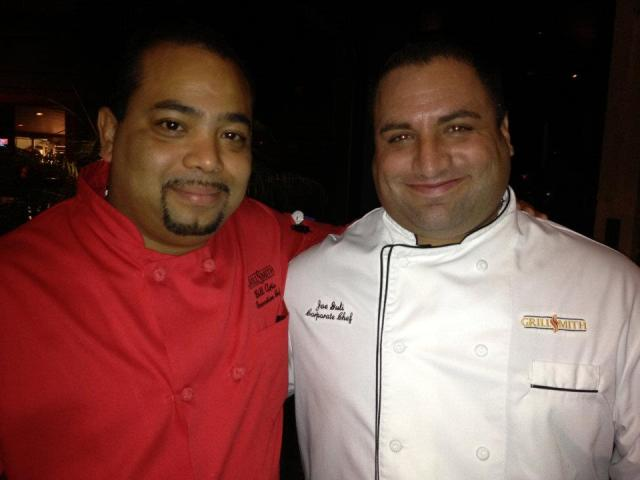 Executive Chef Bill Artis and Corporate Chef Joe Guli (Images Courtesy of JennLikesIt.com)