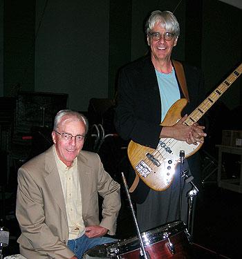 Lee Ahlin (right)