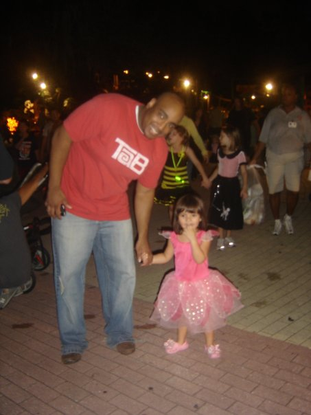 Jerm at ZooBoo with Princess Anahi!