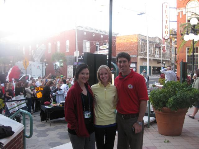 Tampa Bay Area Events: Tampa Bay & Company PR Team at the Today's Show