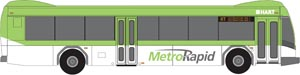 MetroRapid bus