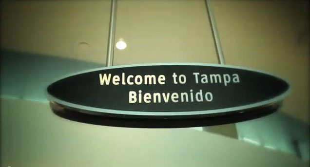 Welcome to Tampa Bay!